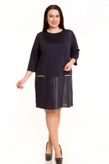 Платье 540 Luxury Plus (Темно-синий)