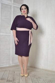Платье 096505 ЛаТэ (Бургунди)