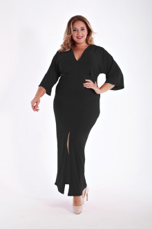 Платье 1213301 ЛаТэ (Черный)