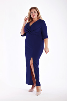 Платье 1213202 ЛаТэ (Темно-синий)