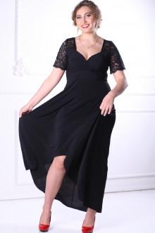 Платье 088801 ЛаТэ (Черный)